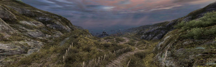 Which path should I follow? (Image from Dear Esther)