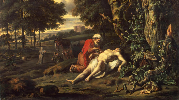 The Parable of the Good Samaritan by Jan Wijnants (1670)