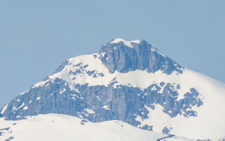 Mountains above Tromso