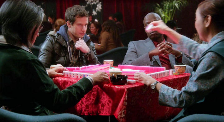 Mahjong on Brooklyn Nine-Nine