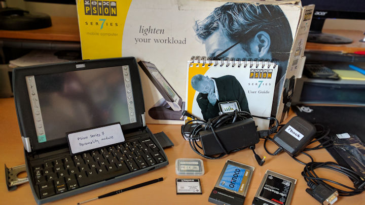Psion Series 7book (Series 7 with netBook personality module)