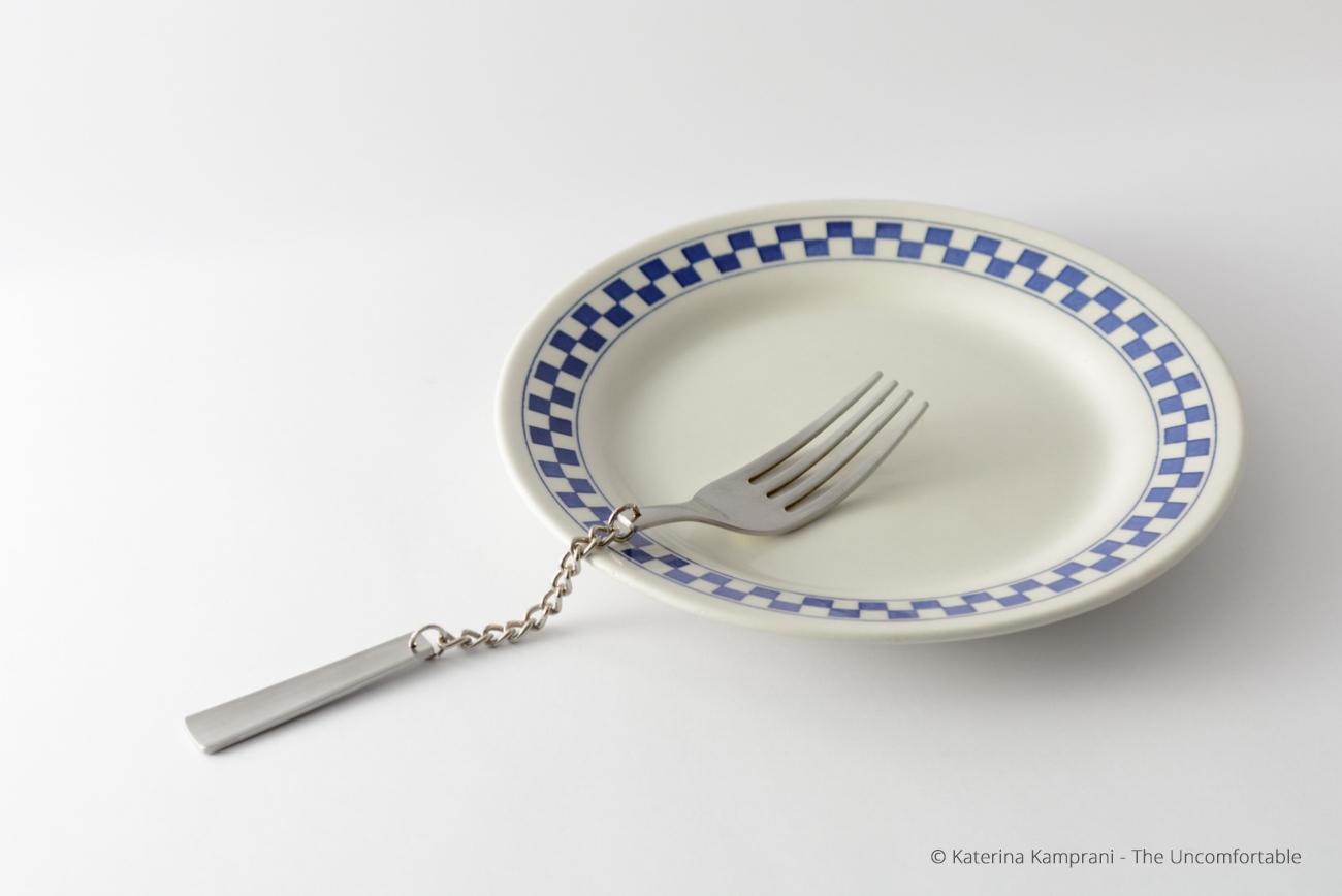 Chain fork by Katerina Kamprani