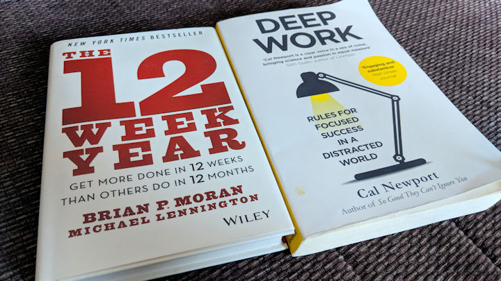 The 12 Week Year and Deep Work
